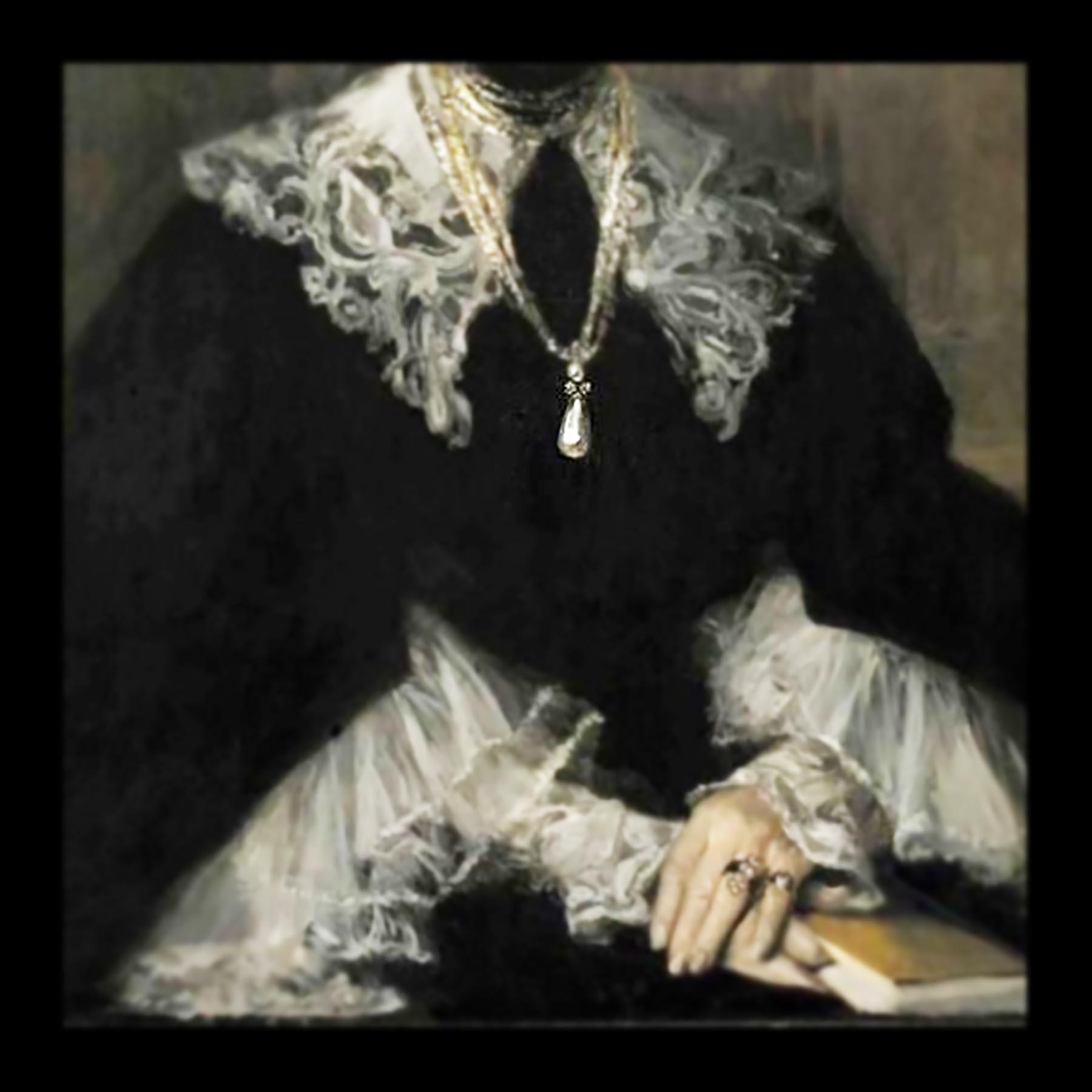 天然バロック真珠 19世紀フランスアンティークジュエリー