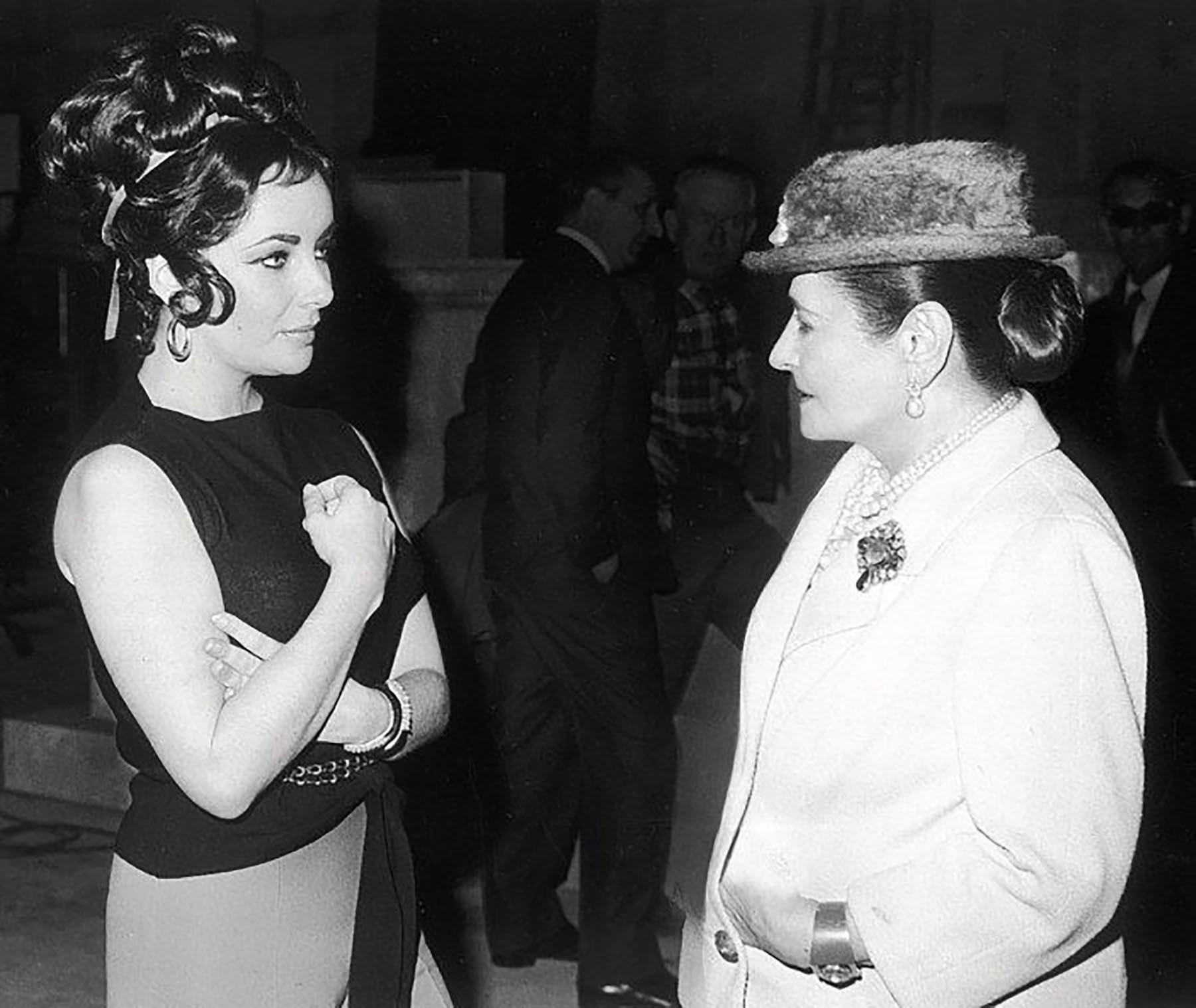 ヘレナ・ルビンスタインとエリザベス・テーラー