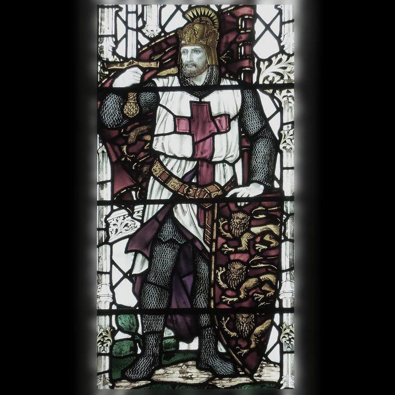 リチャード獅子心王のステンドグラス