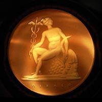 かステラーニ ピクラー ヘルメスのインタリオ 19世紀アンティークペンダント