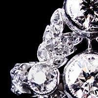 ショーメ ダイヤモンドのアンティークリング