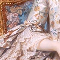 18世紀フランスマダムポンパドゥールの肖像