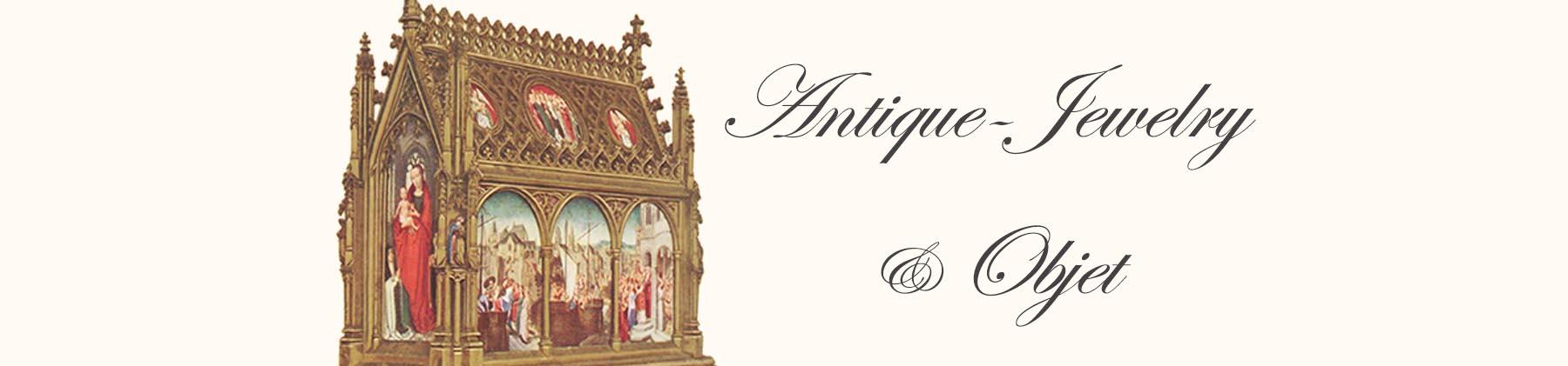 中世のアンティークジュエリーボックス