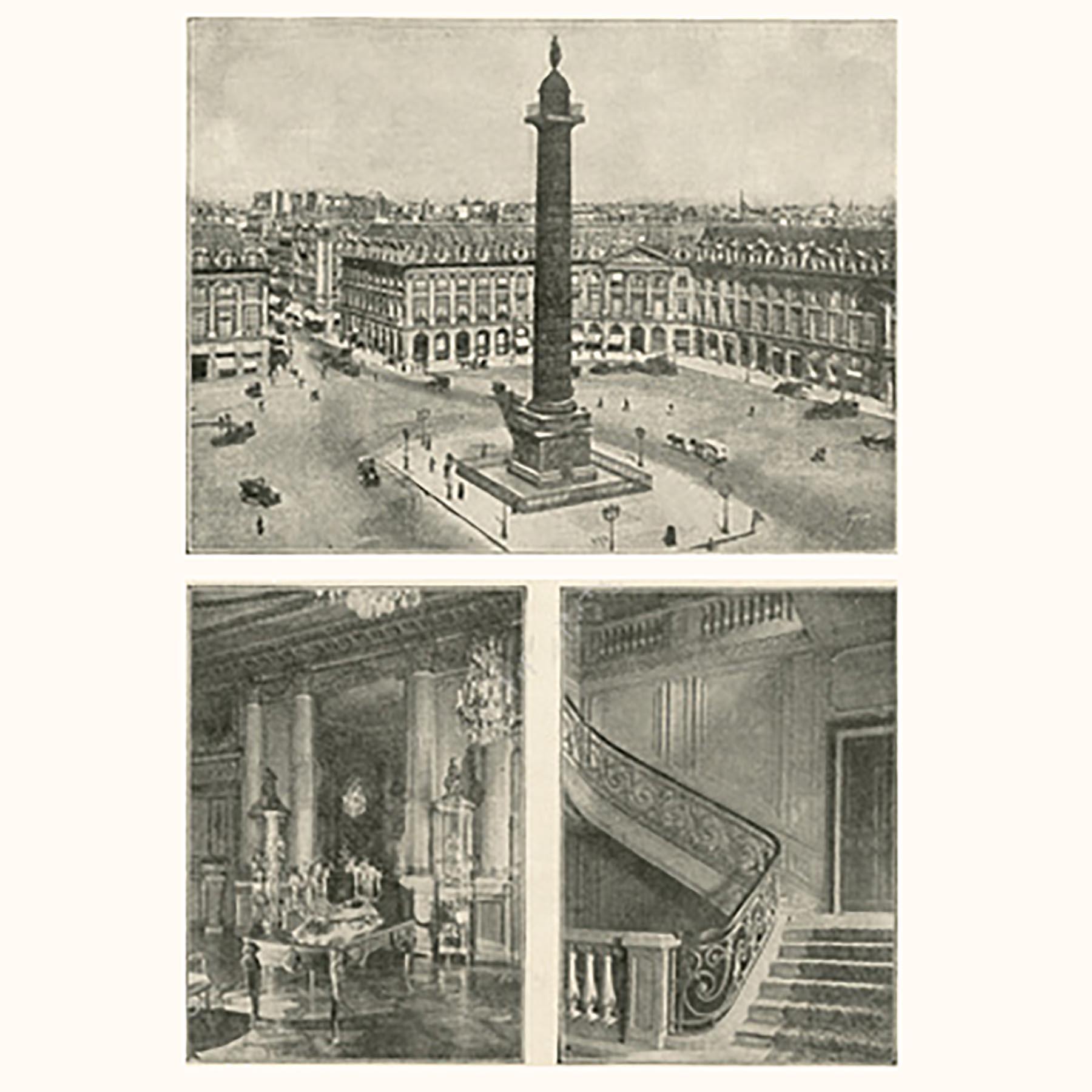 1900年代初期のショーメ ヴァンドーム広場本店と内装
