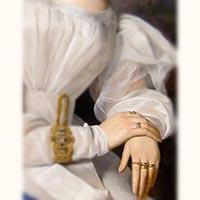 N°0274 ルビーと天然真珠 指輪/19世紀フランスアンティークリング