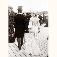 ダイヤモンド ルビー ベルエポック期の指輪アンティークジュエリーの時代の紳士淑女