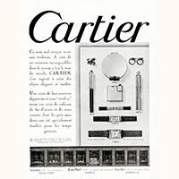 アンティークリストウオッチ カルティエ デュオプラン 18金製 1930年代