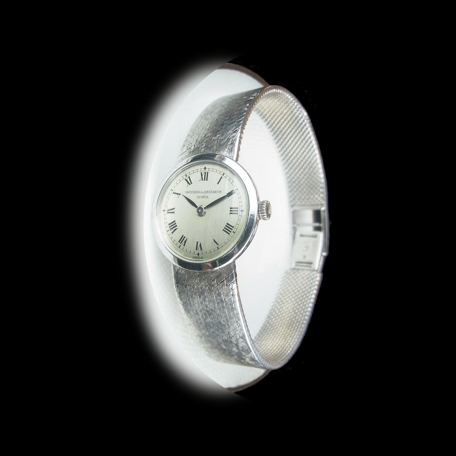 ヴァシュロン・コンスタンタン 機械式ムーヴメント手巻き腕時計 アンティークウオッチ