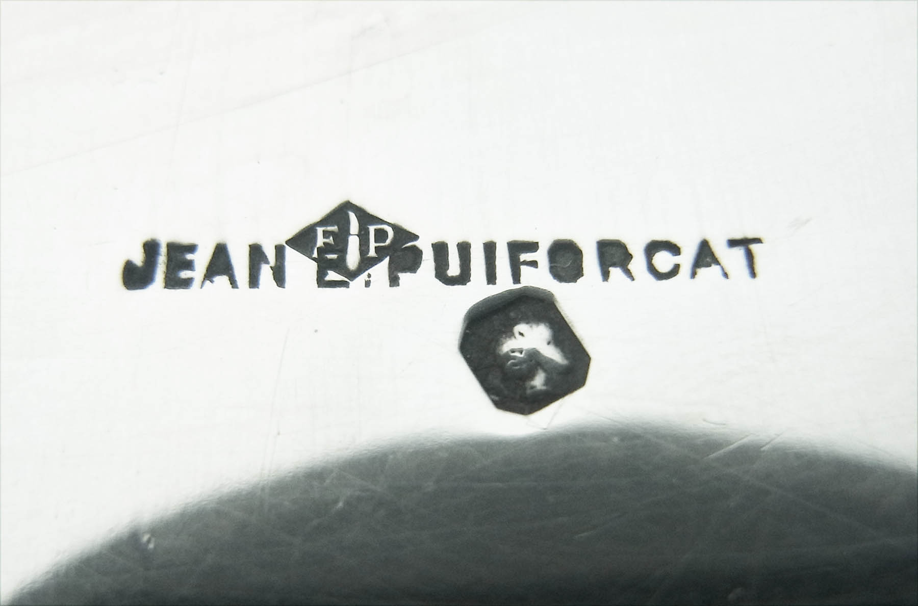 ジャン・ピュイフォルカ セット5ピース フランス銀器 アンティークシルバー