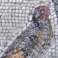 18世紀 宮廷の鳥 モザイク フランスアンティークリング