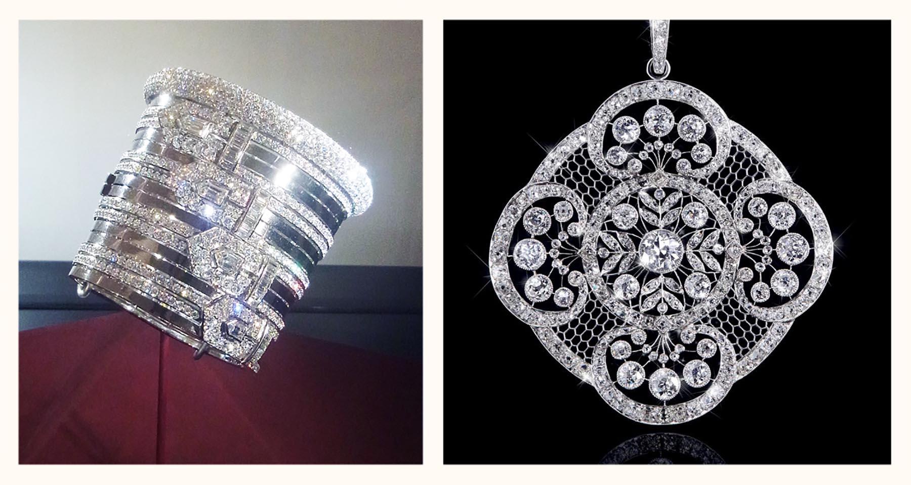 ラクロッシュ バングル ペンダント ダイヤモンドジュエリーメゾン フランス パリ