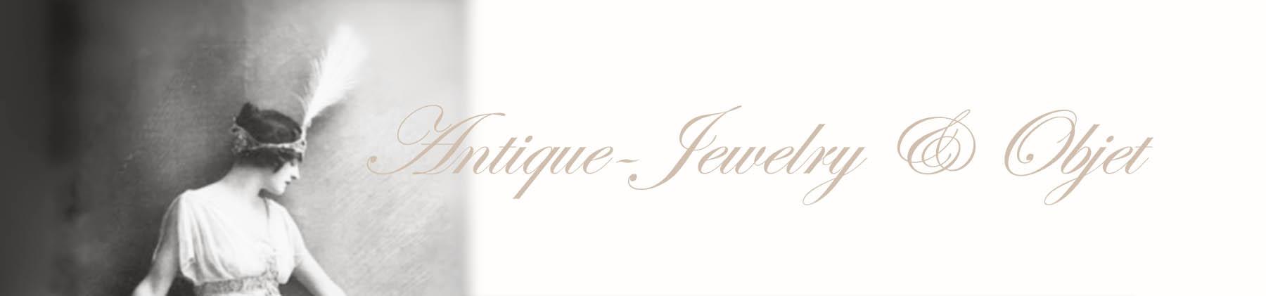 新掲載のアンティークジュエリー オブジェ フランス