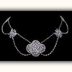 18世紀 ダイヤモンドネックレス エスクラヴァージュ / アンティークジュエリー ルーヴルアンティーク