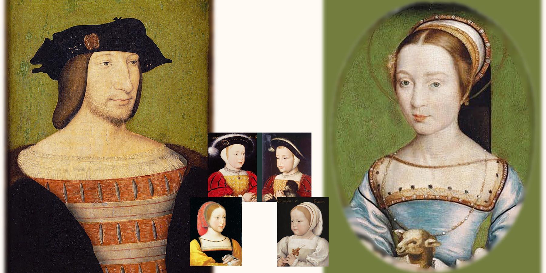 フランソワ1世 クロード・ド・フランス アンティークジュエリー フランス 16世紀