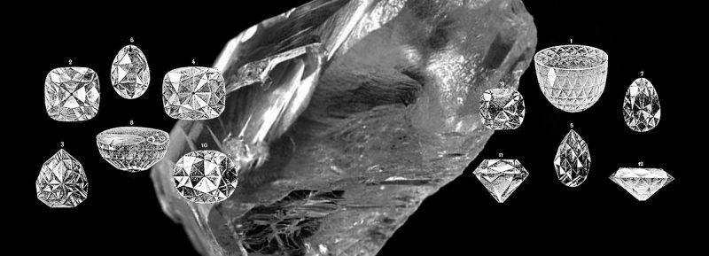ダイヤモンド アンティークジュエリー 原石