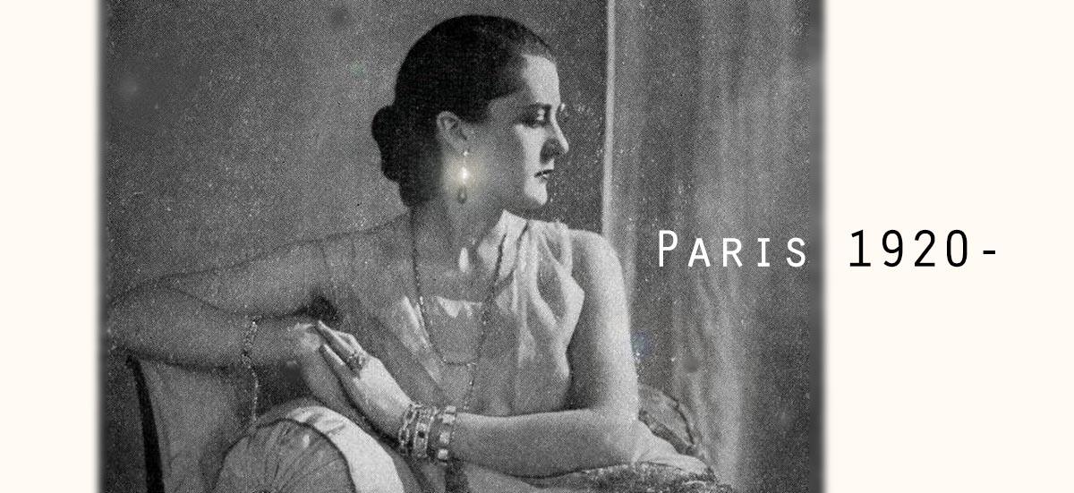 アンティークジュエリー&オブジェ ルーヴルアンティーク フランスアンティークジュエリー 1920年代 アール・デコ 夏のジュエリー